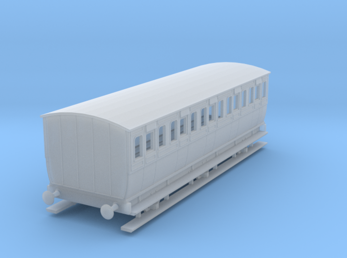 0-148fs-mgwr-6w-3rd-class-coach 3d printed