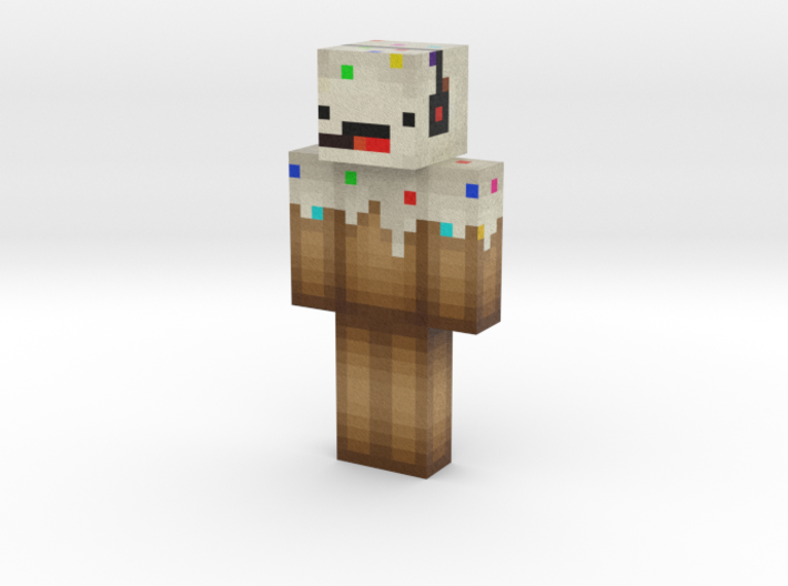 Grassmonster85 | Minecraft toy 3d printed