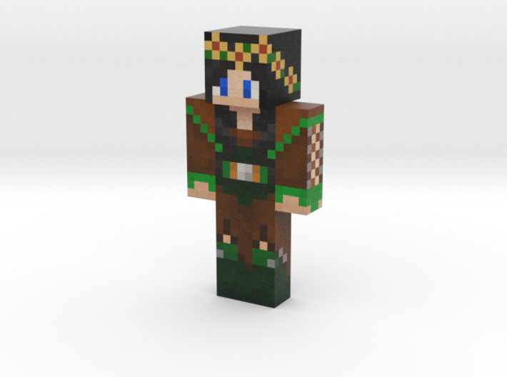 LADY_TYBURN | Minecraft toy 3d printed