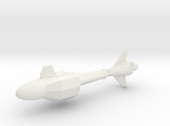 DY-100 Class Refit 3d printed