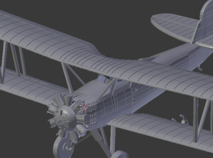 Vought O2U-2 1930s Scout \ Fighter 3d printed