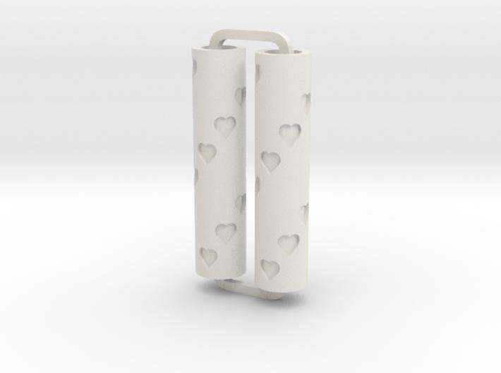Slimline Pro hearts 01 lathe 3d printed