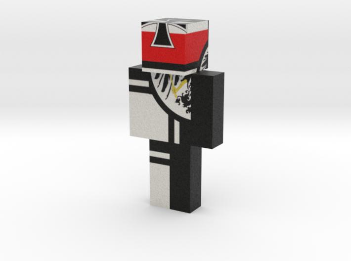 fd9298708a15fb4de72ccd49d7ea13dd | Minecraft toy 3d printed