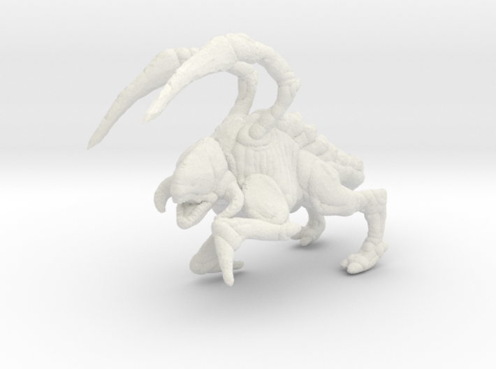 Starcraft HD Zergling 1/60 miniature for games rpg 3d printed