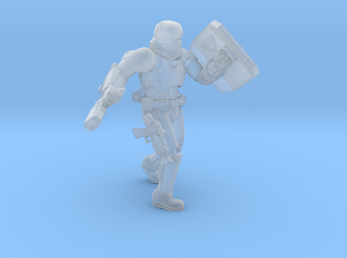First Melee Trooper A3 3d printed