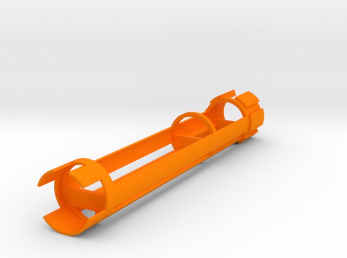 """Saberforge 28mm/1.1"""" RB 18650 Spear Chassis 3d printed"""