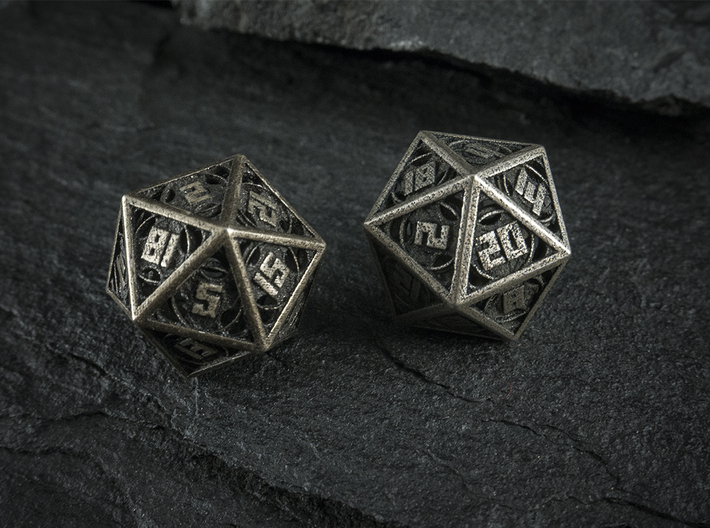 The Goliath - Huge D20  3d printed