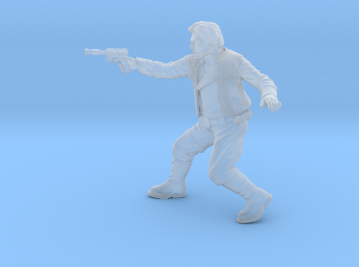 Young Scruffy Scoundrel 3d printed
