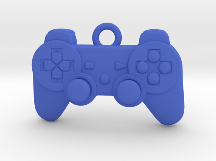 PlayStation Controller Pendant all materials gamer 3d printed