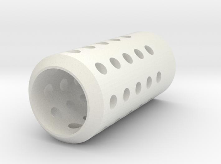 HMP Flash Suppressor for Nerf N-Strike Modulus 3d printed