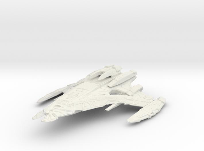 "Jem'Hadar WarCruiser II 7.6"" 3d printed"