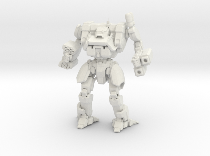 Mist Lynx Mechanized Walker System 3d printed