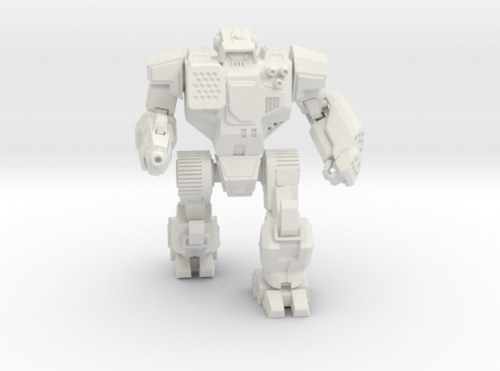 Highlander Mechanized Walker 3d printed