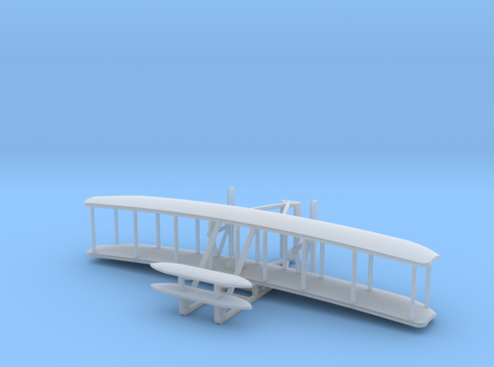 Wright Flyer - Zscale 3d printed