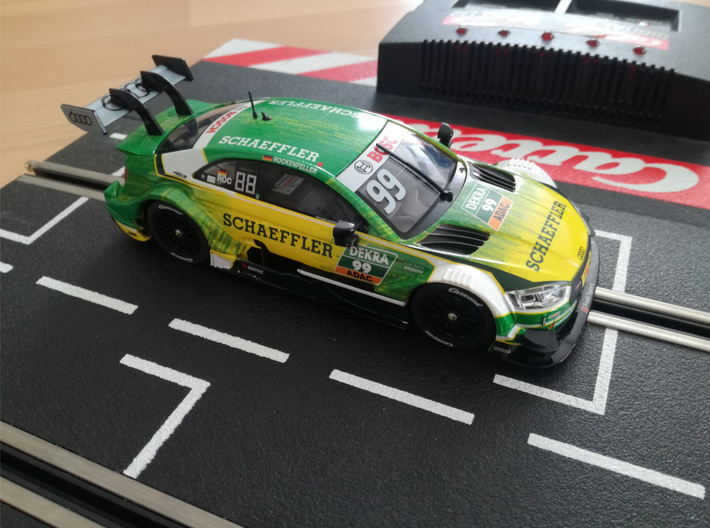 Adap. Carrera DTM Audi RS5 Slot.it HRS-2 Chassis 3d printed