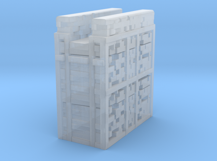 Glacier City Wall 3d printed