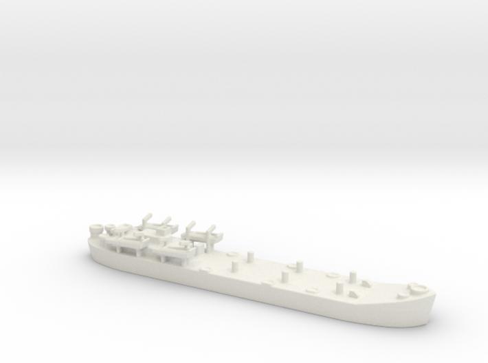 Landing Ship tank MK 2 LST 1/800 5 3d printed