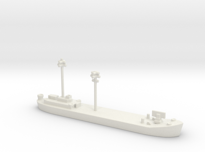 Landing Ship tank MK 2 LST 1/800 FDT 1 3d printed