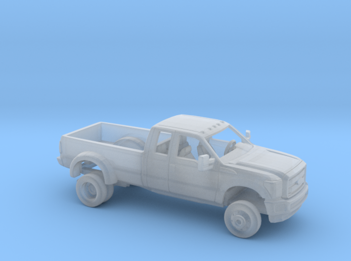 1/160 2011-16 Ford F Series ExtCab Dually Bed Kit 3d printed