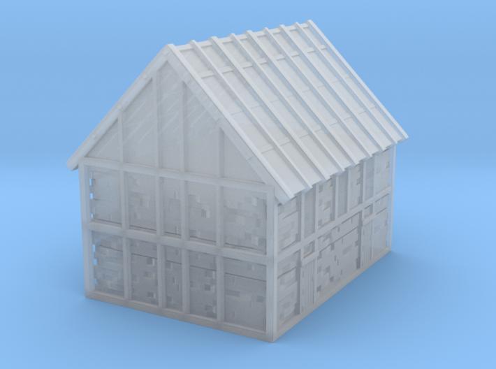Glacier Meeting House 3d printed