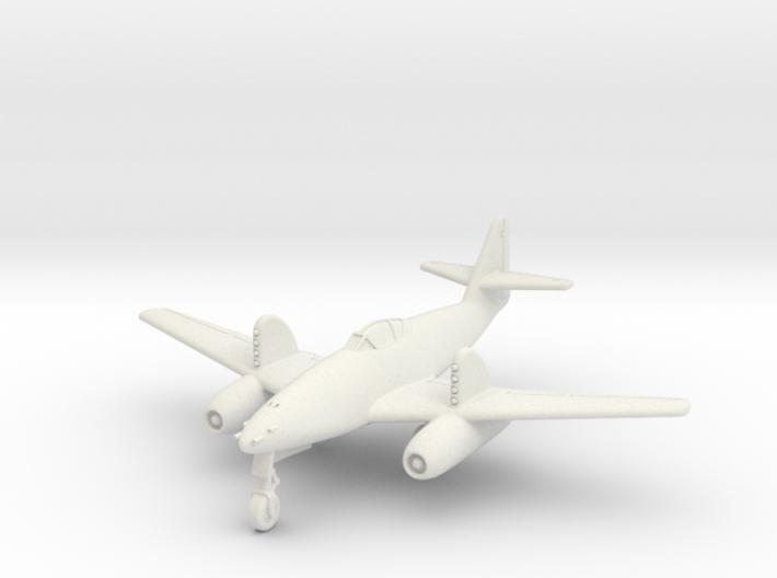 (1:144) Messerschmitt Me 262 w/ RZ64 rockets 3d printed