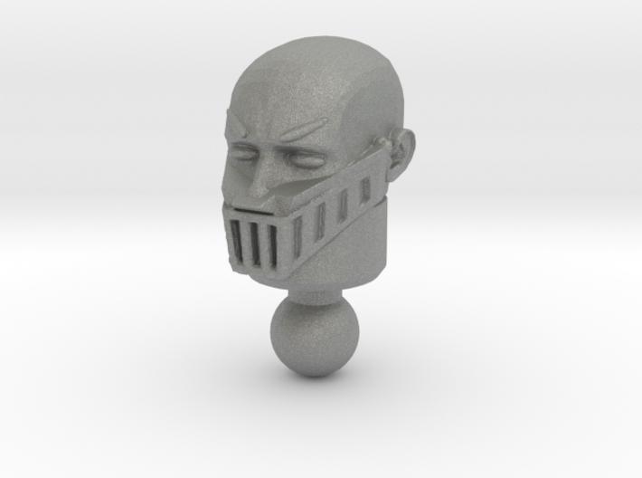 Galactic Defender Baron Karza Unmasked Head 3d printed