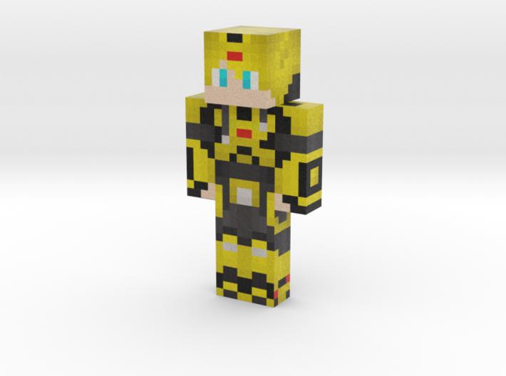 bumblezeemc   Minecraft toy 3d printed
