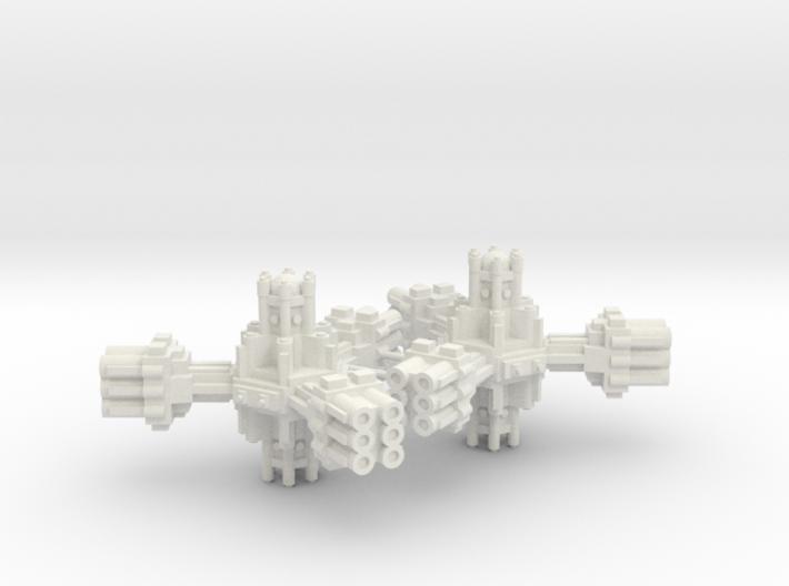 Plataforma de defensa planetaria B 3d printed