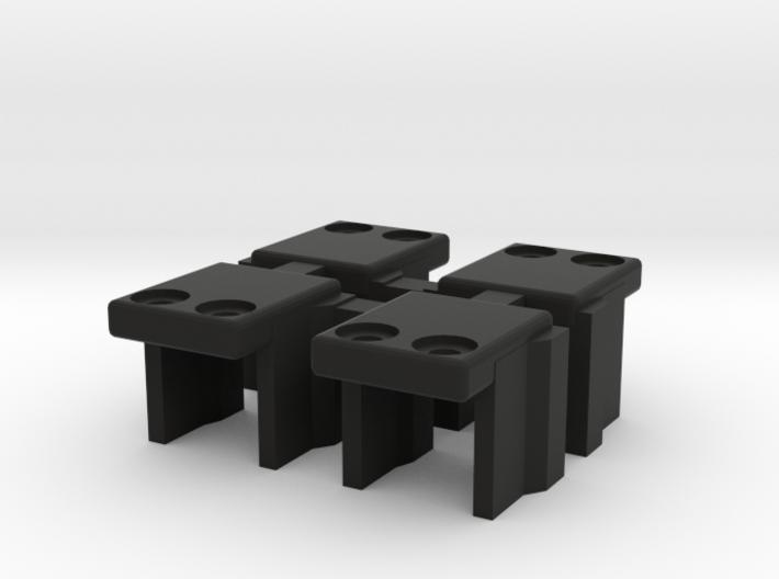 Mini-Z F1 rear wing holder*4 for Scaleauto Klasse 3d printed
