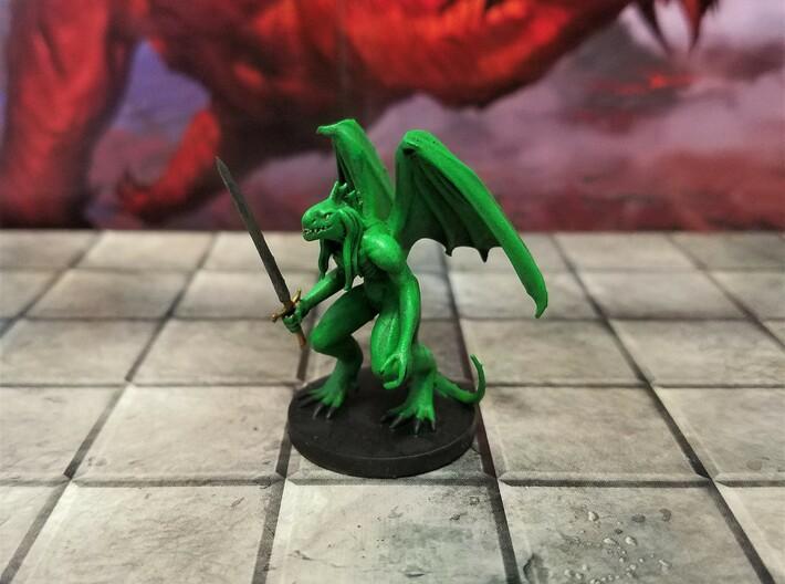 Green Abishai 3d printed