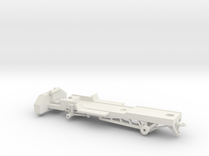 1/64 Pulling Truck Chassis 3d printed
