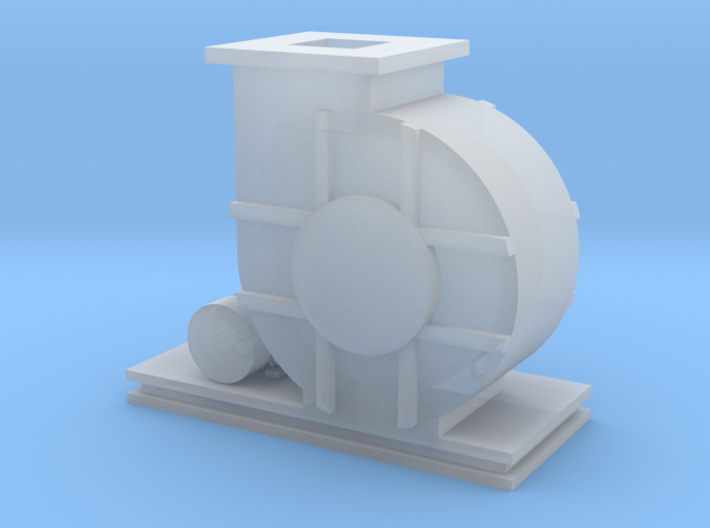 HO Scale Blower 3d printed