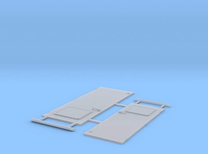 Elco 80' Bridge Door Forward 24th and 20th 3d printed
