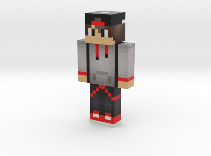 Skin464   Minecraft toy 3d printed