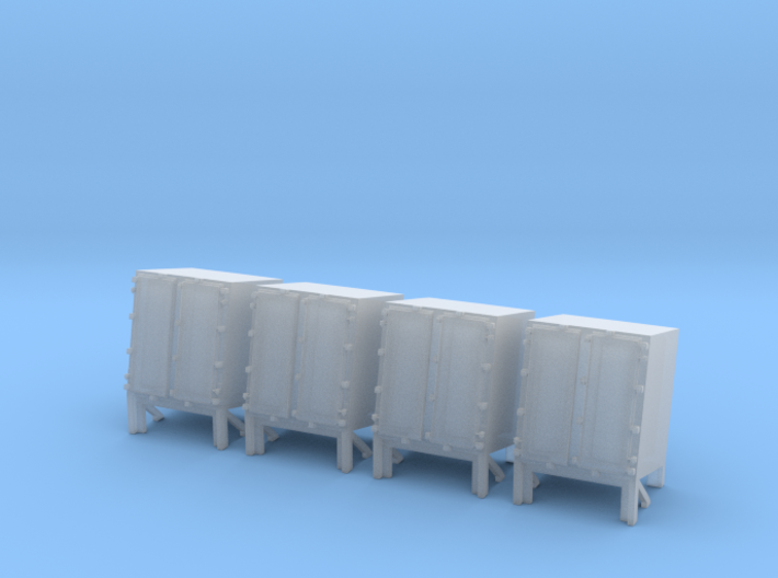 1/144 Ammo Locker for Hedgehog Thrower Set x4 3d printed