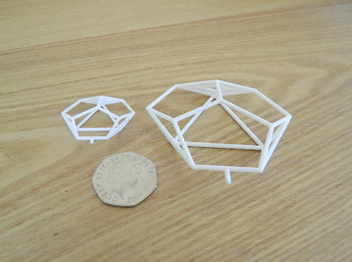 Asp Mk II Wireframe 1-300 3d printed 1-600 with the 1-300