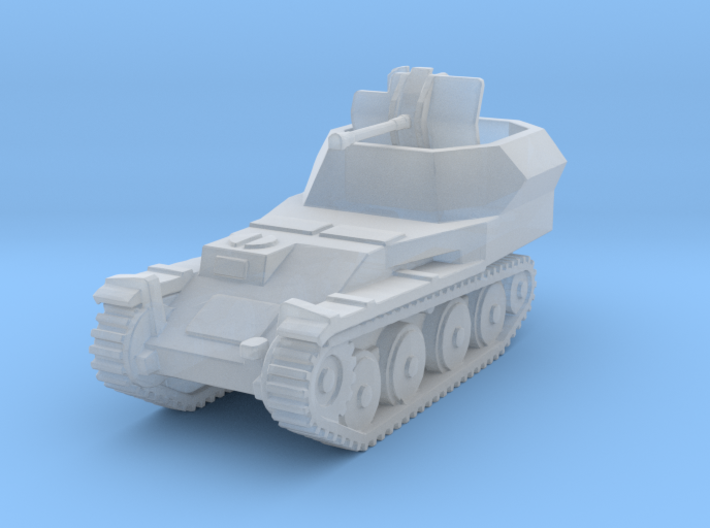 Flakpanzer 38 t scale 1/285 3d printed