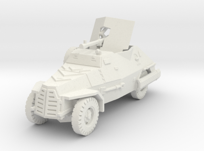 Marmon Herrington mk2 (20mm gun) 1/87 3d printed