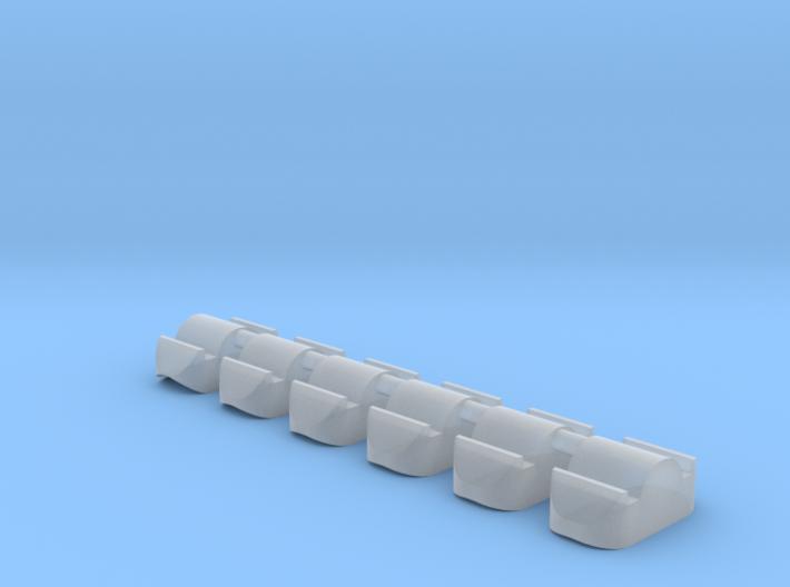skeee's nub set - concave master 3d printed