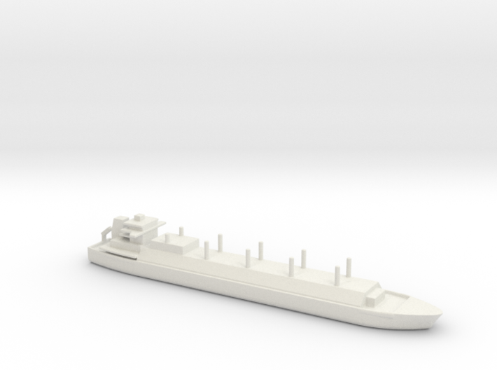 1/2400 Scale LNG Square Tanker 3d printed