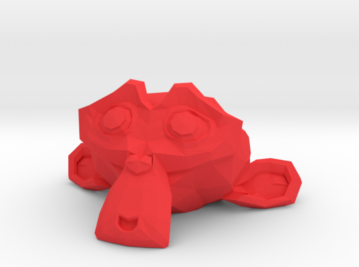 Suzanne the Monkey - Blender 2.8 3d printed
