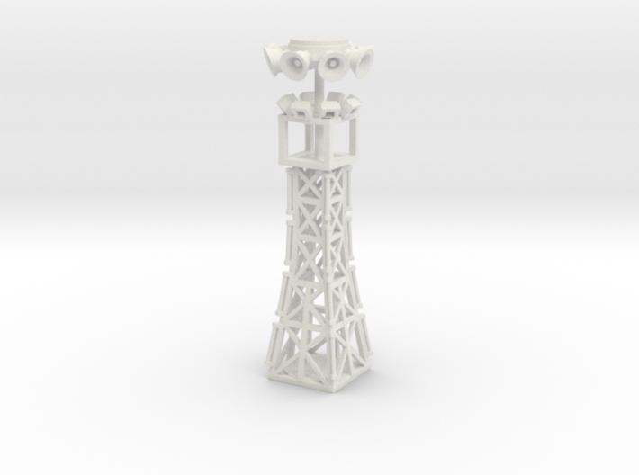 35 foot light tower n scale 3d printed