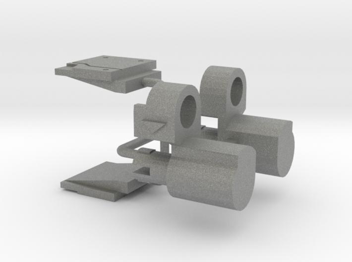 Siege: Meg upgrade kit 3d printed