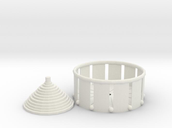 Zoetrope Fidget Spinner 3d printed