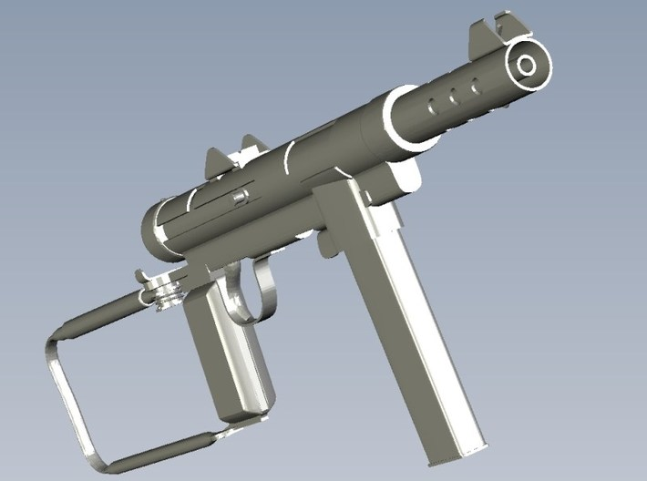 1/16 scale Carl Gustav M-45 submachineguns x 5 3d printed