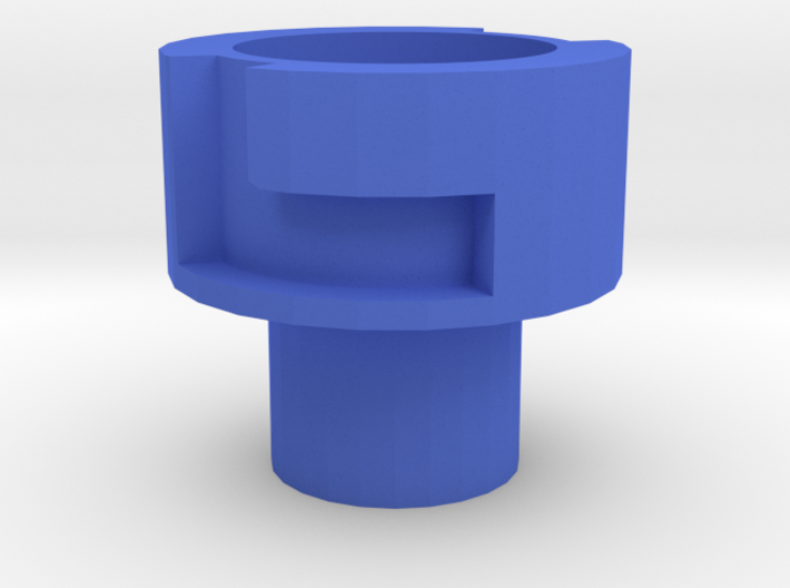 Nerf Muzzle to Airsoft Barrel Adapter (14mm Self-C 3d printed