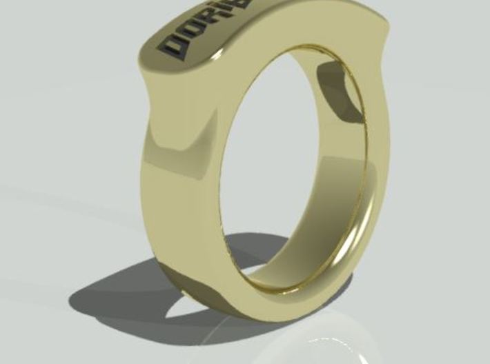 Doribrothers Ring 22mm 3d printed