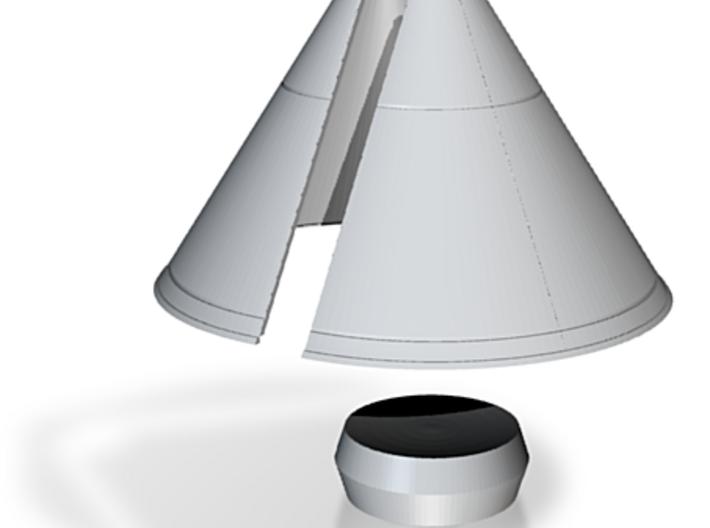 1/144 MARS EXCURSION MODULE SHROUD & RETRO PACK 3d printed