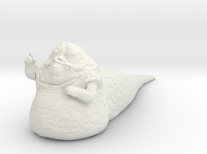 (1/47) Jabba the Hutt 3d printed