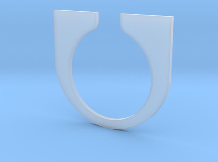 Tesla Turbine casing Bridge 3d printed